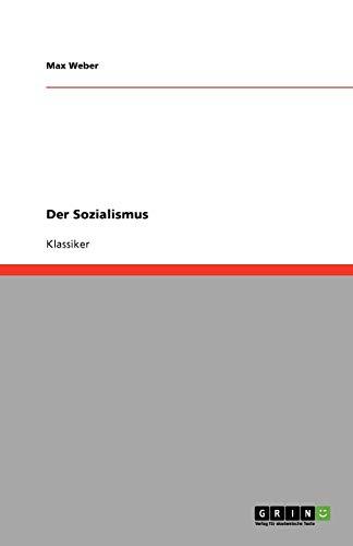 9783640252985: Der Sozialismus (German Edition)
