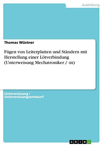 Fugen Von Leiterplatten Und Standern Mit Herstellung: Thomas Wustner