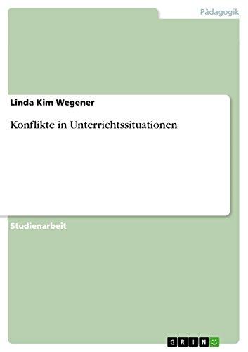 Konflikte in Unterrichtssituationen: Linda Kim Wegener