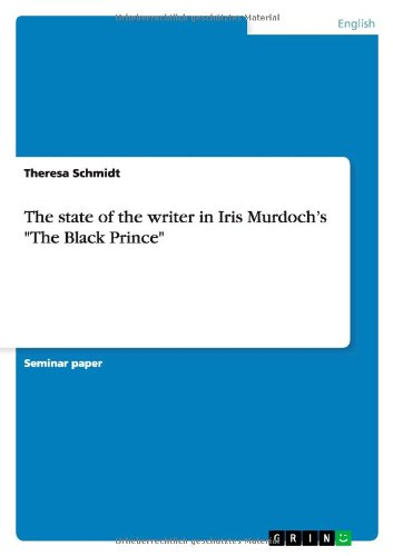 9783640268634: The state of the writer in Iris Murdoch's