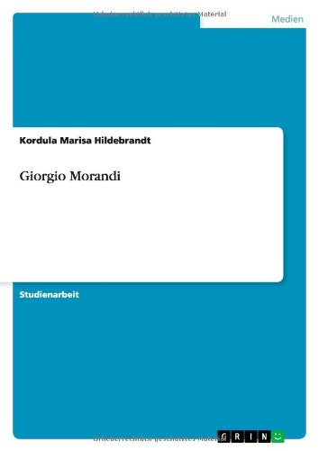 Giorgio Morandi: Kordula Marisa Hildebrandt