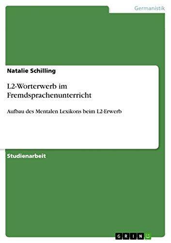 9783640302758: L2-Worterwerb im Fremdsprachenunterricht