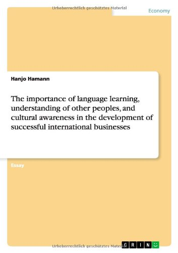 english language learning and the development of cultural awareness