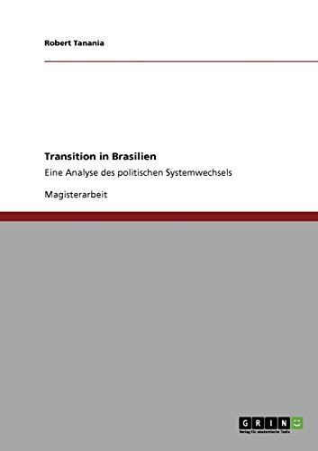 Transition in Brasilien: Robert Tanania