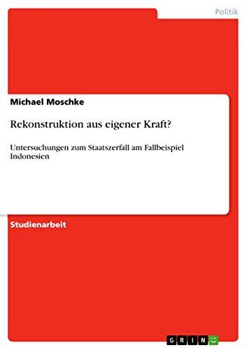 Rekonstruktion Aus Eigener Kraft?: Michael Moschke