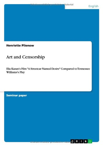 9783640337354: Art and Censorship