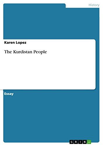 The Kurdistan People: Karen Lopez