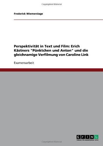 9783640391110: Perspektivität in Text und Film: Erich Kästners