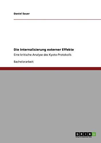 9783640412167: Die Internalisierung externer Effekte (German Edition)