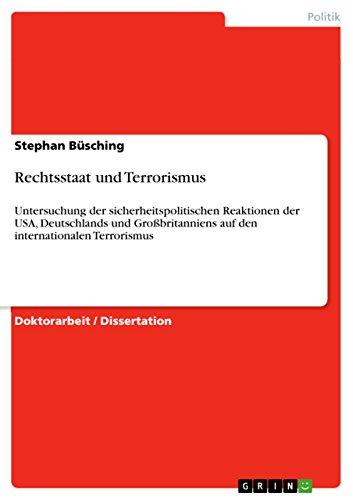 9783640444588: Rechtsstaat und Terrorismus