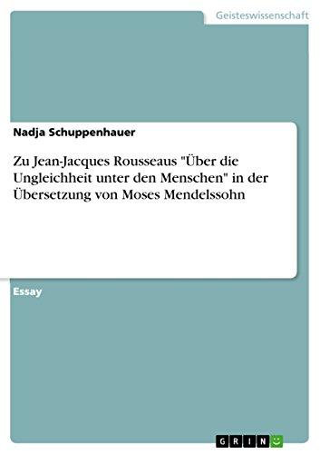9783640446704: Zu Jean-Jacques Rousseaus