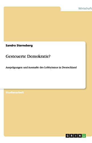 9783640453528: Gesteuerte Demokratie? (German Edition)