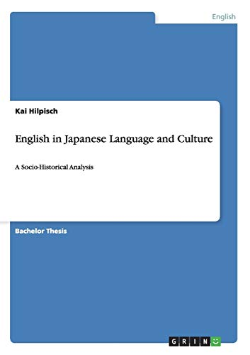 9783640471157: English in Japanese Language and Culture