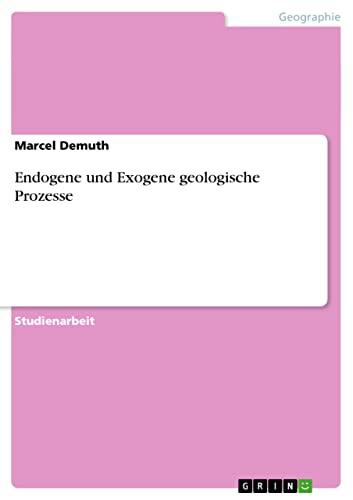 9783640473748: Endogene und Exogene geologische Prozesse (German Edition)