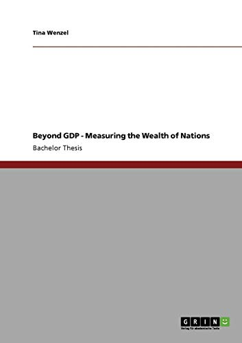9783640482665: Beyond GDP - Measuring the Wealth of Nations