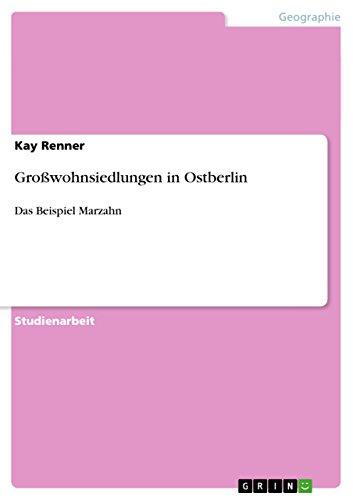 9783640490547: Gro�wohnsiedlungen in Ostberlin