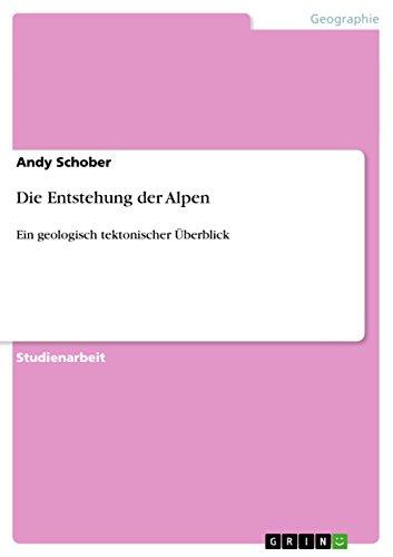 9783640496594: Die Entstehung der Alpen