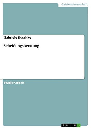 9783640504022: Scheidungsberatung (German Edition)