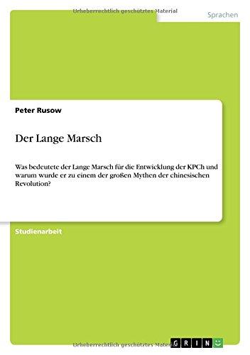 Der Lange Marsch: Jonathan Vogelsang