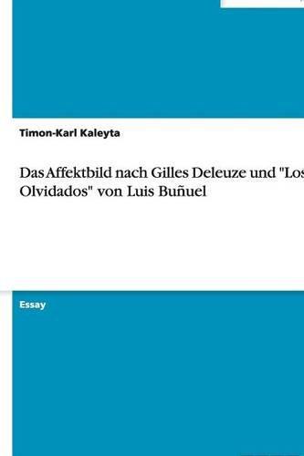 9783640517749: Das Affektbild nach Gilles Deleuze und
