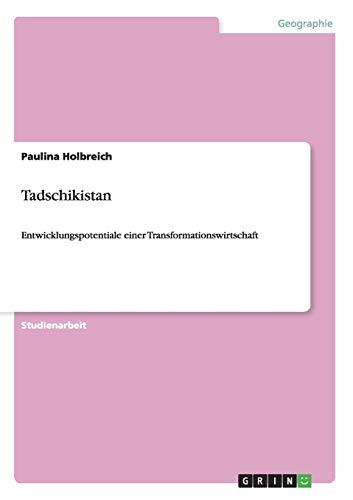 Tadschikistan: Paulina Holbreich