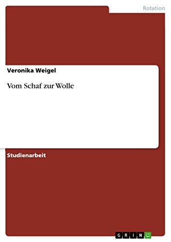Vom Schaf Zur Wolle: Veronika Weigel