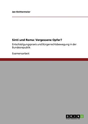 9783640551026: Sinti und Roma: Vergessene Opfer?