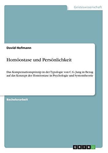 Homöostase und Persönlichkeit: David Hofmann