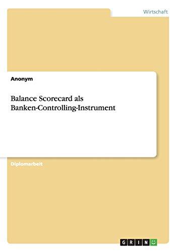Balance Scorecard ALS Banken-Controlling-Instrument