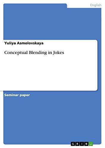 9783640586332: Conceptual Blending in Jokes