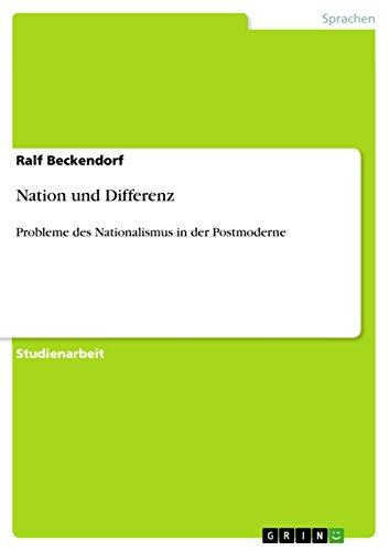 9783640593897: Nation und Differenz (German Edition)