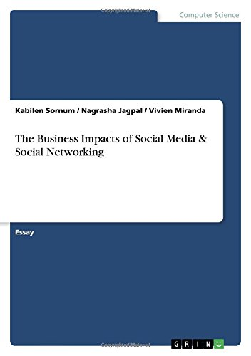 The Business Impacts of Social Media and: Kabilen Sornum