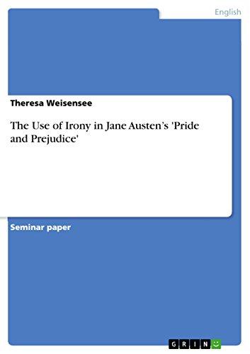 9783640600175: The Use of Irony in Jane Austen's 'Pride and Prejudice'