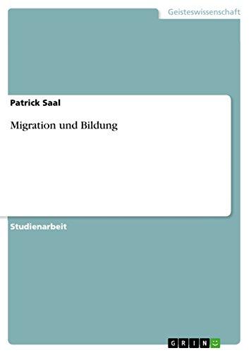 9783640605125: Migration und Bildung (German Edition)