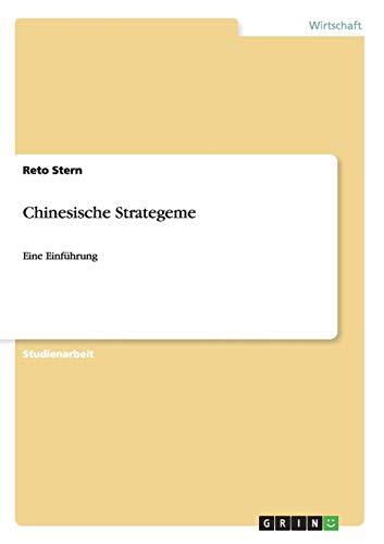 Chinesische Strategeme: Reto Stern