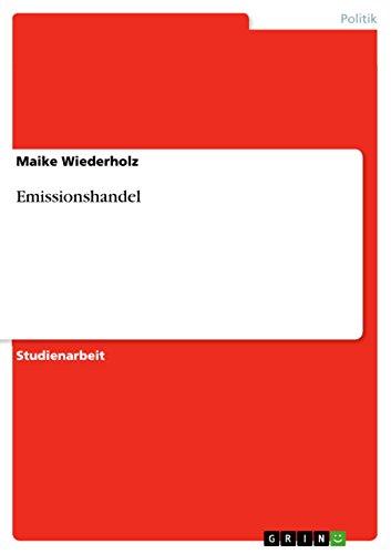 Emissionshandel: Maike Wiederholz