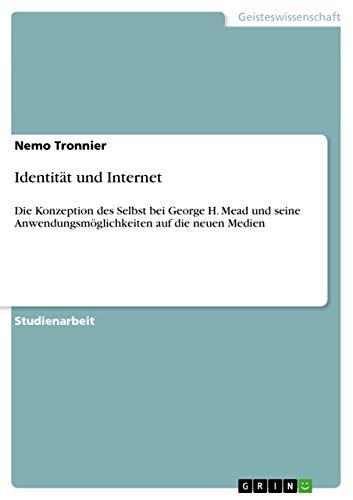 Identitat Und Internet: Nemo Tronnier