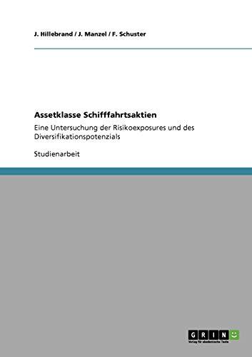 9783640621774: Assetklasse Schifffahrtsaktien (German Edition)