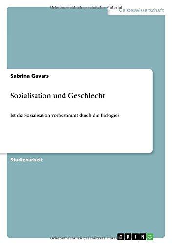 9783640633289: Sozialisation und Geschlecht (German Edition)