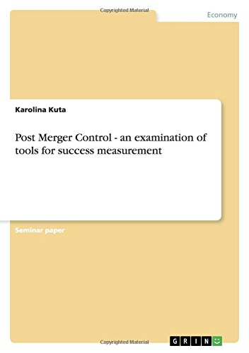 post merger control an examination Actual antitrust merger review only started in brazil in the early 1990s, when   obtain (at that time ex post, non-suspensory) antitrust clearance for mergers that  fell  for fast-track analysis, not to mention cade's internal rules (resolution no.