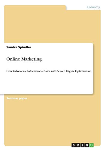 9783640645435: Online Marketing