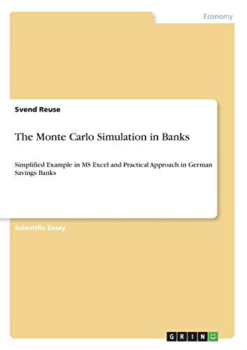 9783640645855: The Monte Carlo Simulation in Banks