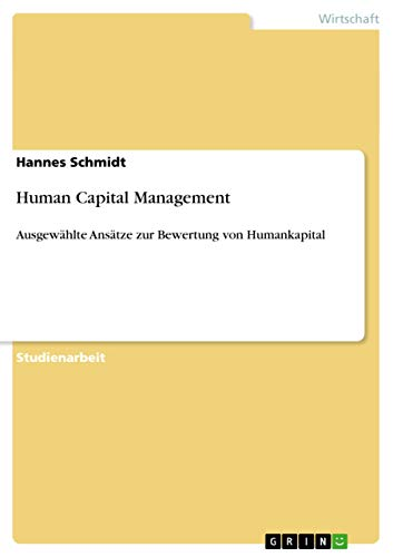 Human Capital Management - Hannes Schmidt