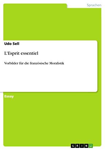 9783640663101: L'Esprit essentiel (German Edition)