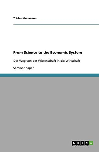 From Science to the Economic System: Tobias Kleinmann