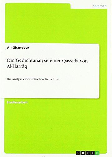Die Gedichtanalyse Einer Qass Da Von Al-Harr Q: Ali Ghandour