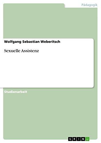 Sexuelle Assistenz: Wolfgang Sebastian Weberitsch
