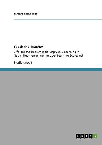 Teach the Teacher: Tamara Rachbauer
