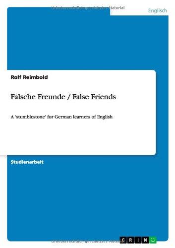 9783640721979: Falsche Freunde / False Friends