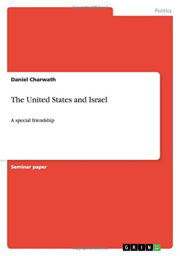 The United States and Israel: Daniel Charwath